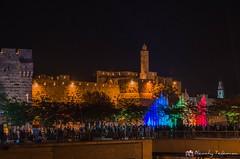 King David Tower (s'tel10) Tags: nightphotography night lights israel jerusalem jaffa kingdavid lightfestival sigma1750mm28 nikond7000