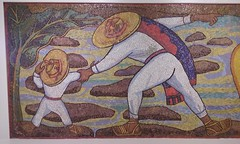 Diego Rivera: Rio Juchitan (or) Bao en el Rio (or) Bao en Tehuantepec (sftrajan) Tags: museum artwork mexicocity arte mosaic mosaico musee diegorivera museo 20thcentury ciudaddemexico musem mexicanart museosoumaya artemexicano