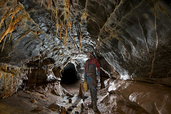 _OFD7889 (ChunkyCaver) Tags: cave caving spelunking calcite ofd caver ogofffynnonddu moonlightchamber