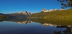 Tranquil Sawtooth Reflections (Cole Chase Photography) Tags: morning sunrise canon reflections idaho sawtoothmountains redfishlake eos5dmarkiii