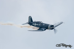 DSC_8014 (CEGPhotography) Tags: worldwariiweekend reading pa midatlanticairmuseumworldwariiweekend midatlanticairmuseum wwii corsair fighter fg1dcorsair fg1d