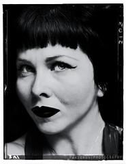 Vintage me (freshandfun) Tags: woman selfportrait girl vintage retro brunette selfie