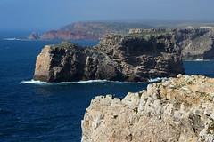 Cape Saint Vincent (Bert#) Tags: portugal algarve sagres cape saint vincent nature cliff rock ocean seaview travel