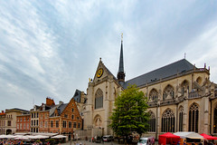 Sint-Pieterskerk (doevos) Tags: belgi grotemarkt leuven photomatixprov51 sintpieterskerk vlaanderen belgium