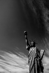 Statue of Liberty - Visnes, Norway (Sten Dueland) Tags: visnes haugesund karmy statue liberty statueofliberty new york newyork copper mine coppermine