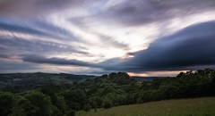 Devon Skys (Brad Discombe) Tags: sunset sky skyline canon landscape long exposure angle wide devon exeter 100d nd10stop canonefs1018mm
