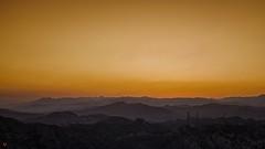Wild Mountain Honey (BeyondThePrism) Tags: california above sunset shadow sky orange usa sun sunlight mountain mountains field cali digital dark nikon shadows view unitedstates sundown dusk unitedstatesofamerica sunny depthoffield clear pointofview beyond mountainview depth californian settingsun mountainrange d600 castonguay nikond600 beyondtheprism jpcastonguay jeanphilippecastonguay stevestonranch