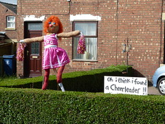 Cheerleader (Thomas Kelly 48) Tags: lumix scarecrow panasonic halsall westlancashire fz150 halsallscarecrowfestival