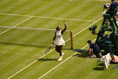 Serena Williams vs Amra Sadikovic (gooey_lewy) Tags: two england usa london club court championship slam day all williams stadium swiss centre united year lawn first grand victory tennis round winner match sui serena block vs states championships matches wimbledon 130 croquet association 509 amra aeltc 130th sadikovic