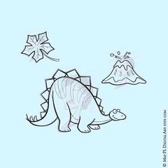 Whimsy Stegosaurus Dinosaur Digistamp Clipart, part of a 13 piece set #Whimsy #Stegosaurus #Dinosaur #Clipart #digistamp https://goo.gl/kQWNPq (maypldigitalart) Tags: whimsy dinosaur clipart stegosaurus digistamp