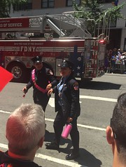 NYC Pride 2016 (Cait_Stewart) Tags: nyc newyorkcity gay newyork flag pride parade prideparade lgbt lesbians proposal fdny firefighters iphone prideflag nycpride lgbtflag lgbtwedding pride2016 nycpride2016 lgbtfirefighters lesbianfirefighters