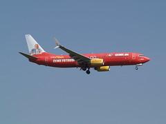 TUIfly.com (uwe_gompf_66) Tags: boeing fraport frankfurtmain tuiflycom fotobuch cewede 07r flughafen airport 737800 dahfz