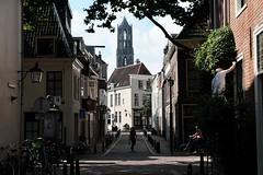 Korte Lauwerstraat/Hardebollenstraat Utrecht (NL) Fuji X-E2 + Fujinon XC 16-50 (patrick van den hurk) Tags: church utrecht domtoren fuji domtower fujix xe2 classicchrome fujixseries fujinonxc1650mmf3556ois fujinonxc1650