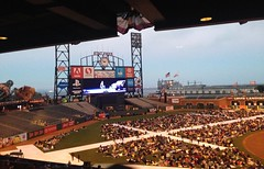 opera at the ballpark (ningning7) Tags: bill george with heather dustin denise carmen