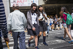 After school () Tags: japan osaka street stranger people candid leica mp leicamp m240p leicam240p m240 leica35mmf20summicronver3 leica35mmf20summicron summicron f20 city socialevent publicspace kansai walking offfinder japanese road travelling trip travel 35mm leica35mmf20    streetphotography asia    girls girl woman umeda
