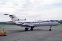 RA-88246 Yakovlev Yak-40 Aeroflot (pslg05896) Tags: aeroflot kja unkl yakovlev krasnoyarsk yak40 krasair yemelyanovo ra88246