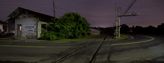 365-215 ( estatik ) Tags: road county new panorama station night train hope long exposure rr pa swamp feed 365 davis littleitaly thursday bucks rd 215 thurs furlong ivyland 61616 365215 june162016 40257720 75030215oldtrainstationtracksbendcurvedecayabandoned