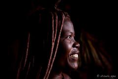 Smiling Profile 8792 (Ursula in Aus - Away) Tags: otjomazeva himba africa namibia environmentalportrait