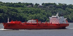 Bow Mekka (Jacques Trempe 2,670K hits - Merci-Thanks) Tags: canada river ship quebec bow stlawrence stlaurent mekka tanker fleuve navire stefoy petrolier