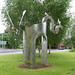SWEET WATER ARCH BY DENIS O'CONNOR AND BERNIE RUTTER [STRANMILLIS AREA OF BELFAST]-117862