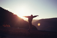 Voltaire (Lorenzo Scudiero) Tags: travel boy sunset summer sky sun nature youth clouds sunrise 35mm jump young adventure explore silence vibes ontheroad liveauthentic lorenzoscudiero
