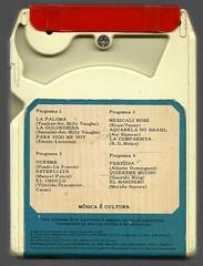 "1971 - Billy Vaughn / La Paloma - brazilian 8 track - fita cartucho de 8 pistas (""The Brazilian 8 Track Museum"") Tags: music vintage collection tape cartridge alceu massini"