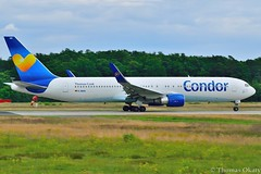 DSC_0833_299 (thokaty) Tags: frankfurt providence boeing condor pvd fra fraport planespotting b767 b767300 eddf startbahnwest dabuh kpvd
