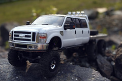 Ford F-350 6 door 6wd 23 (My Scale Passion) Tags: ford 6x6 scale rock truck bed flat micro extended rc mrc f350 crawler lifted losi 6wd 6door myscalepassion