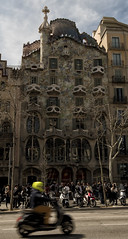 Barcelona Casa Batllo (chabish123) Tags: barcelona casa fuji gaudi nik batllo lightroom colorefexpro xpro2