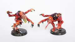 Lost Patrol: Genestealer carapace (Will Vale) Tags: 40k scifi gamesworkshop tyranid wh40k lostpatrol genestealer
