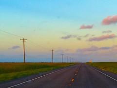 Pre-dawn Drive on Padre Island (johnnyp_80435) Tags: road sky clouds dawn drive vanishingpoint texas horizon padreisland nationalseashore klebergcounty