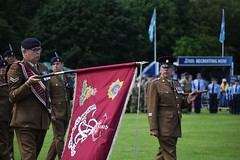 Parading the Colours