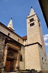 Basilica of St. George at Prague Castle (black_betty2) Tags: praha praskhrad tschesche