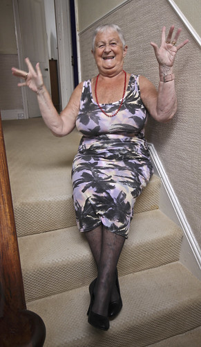 Frocks on the stairs 78/3.