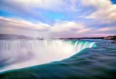 Horseshoe Falls, Ontario (jrcrespinphoto) Tags: longexposure travel sky canada water river niagarafalls niagara falls