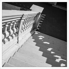 Down We Go! (amanessinger) Tags: castle stairs austria niedersterreich schloshof manessingercom