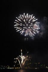 Fireworks over Kailua Bay (BarryFackler) Tags: ocean cruise sea vacation holiday reflection water night dark hawaii polynesia bay pacific fireworks smoke patriotic celebration event pacificocean fourthofjuly bigisland explosions july4th 4thofjuly patriotism independenceday kona saltwater julyfourth pyrotechnics tourboat 2016 specialoccasion dinnercruise bodyglove hawaiicounty hawaiiisland kailuabay sandwichislands fireworkscruise westhawaii northkona kanoaii july4thfireworkscruise