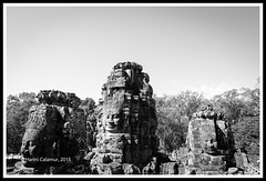 Angkor Thom - the faces of god (calamur) Tags: architecture cambodia buddhist siemreap buddhisttemple angkorthom harinicalamur nikond7000