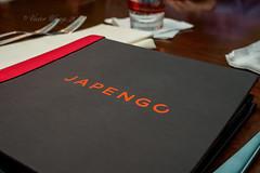 Menu Booklet of Japengo, Waikiki (Victor Wong (sfe-co2)) Tags: red usa white menu cuisine hawaii restaurant hotel book waikiki traditional text meals indoor hawaiian hyatt booklet honolulu folder regency japengo familystyle entrees
