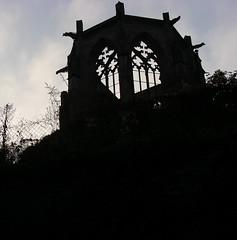 Never finshed gothic chapel (tiexano) Tags: heritage silhouette gothic worldheritagesite middle rhine rhein bacharach unescowelterbe oberesmittelrheintal rheinromantik rhinegorge wernerkapelle uppermiddlerhinevalley romanunescowelterbeworld siterhine gorgeupper valleyrhineoberes mittelrheintalrheinromanticism
