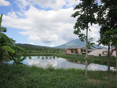 POND IN BAAO (PINOY PHOTOGRAPHER) Tags: world trip travel mountain color tree beautiful canon photography pond asia tour image philippines picture bicol baao camsur