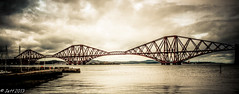 Pont de Edimbourg (chemin de fer) (Jeff-Photo) Tags: voyage travel bridge canon scotland pont hdr ecosse edimbourg traitement 50d flickrunitedaward