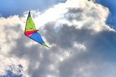 ( EkkyP ) Tags: sky cloud kite fly flying vibrant uploaded:by=flickrmobile flickriosapp:filter=nofilter