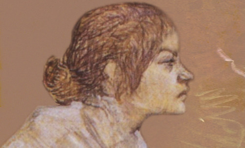 "Las Madeleines escuchando la soleada soledad, descripciones de Henri de Toulouse Lautrec (1889) y Pablo Picasso (1904). • <a style=""font-size:0.8em;"" href=""http://www.flickr.com/photos/30735181@N00/8805137423/"" target=""_blank"">View on Flickr</a>"