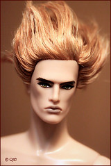 Magnus (astramaore) Tags: black male fashion toy golden model glamour doll raw greeneyes lukas chic cheekbones royalty appeal goldenhair fulllips fashionroyalty