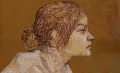 "Las Madeleines escuchando la soleada soledad, descripciones de Henri de Toulouse Lautrec (1889) y Pablo Picasso (1904). • <a style=""font-size:0.8em;"" href=""http://www.flickr.com/photos/30735181@N00/8815718054/"" target=""_blank"">View on Flickr</a>"