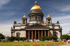 Saint Isaac's Cathedral (.:Lintra:.) Tags: russia petersburg saintpetersburg saintisaacscathedral catstarzhinska finepixhs20exr