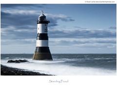 Standing Proud (Stuart Leche) Tags: longexposure sea seascape wales landscape scenic le rockpool waterscape anglesey menaistrait penmon puffinisland ynysseriol canon5dmkiii bigstopper trwyndulighthouse dinmorpoint