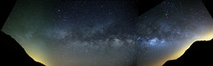 Journey through the Galaxy (Sergei Golyshev) Tags: sky panorama night way islands space pano panoramic via galaxy caldera astrophotography astronomy canary universe teide milky cosmos vixen voie   lactea widefield  lacte  lattea  startracker  vintergatan milchstrase   polarie stafrield