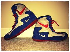 RWB Nike Footsweeps (zbrit (8149529050)) Tags: shoes wrestling nike og asics olympic adidas edition rwb 2k4 wrestle inflict kolat footsweeps uploaded:by=flickrmobile flickriosapp:filter=chameleon chameleonfilter